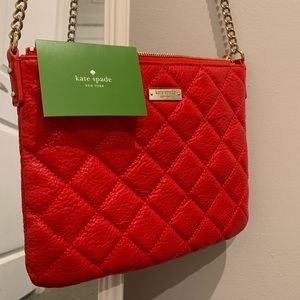 Authentic Kate Spade Leather Cross-body Bag